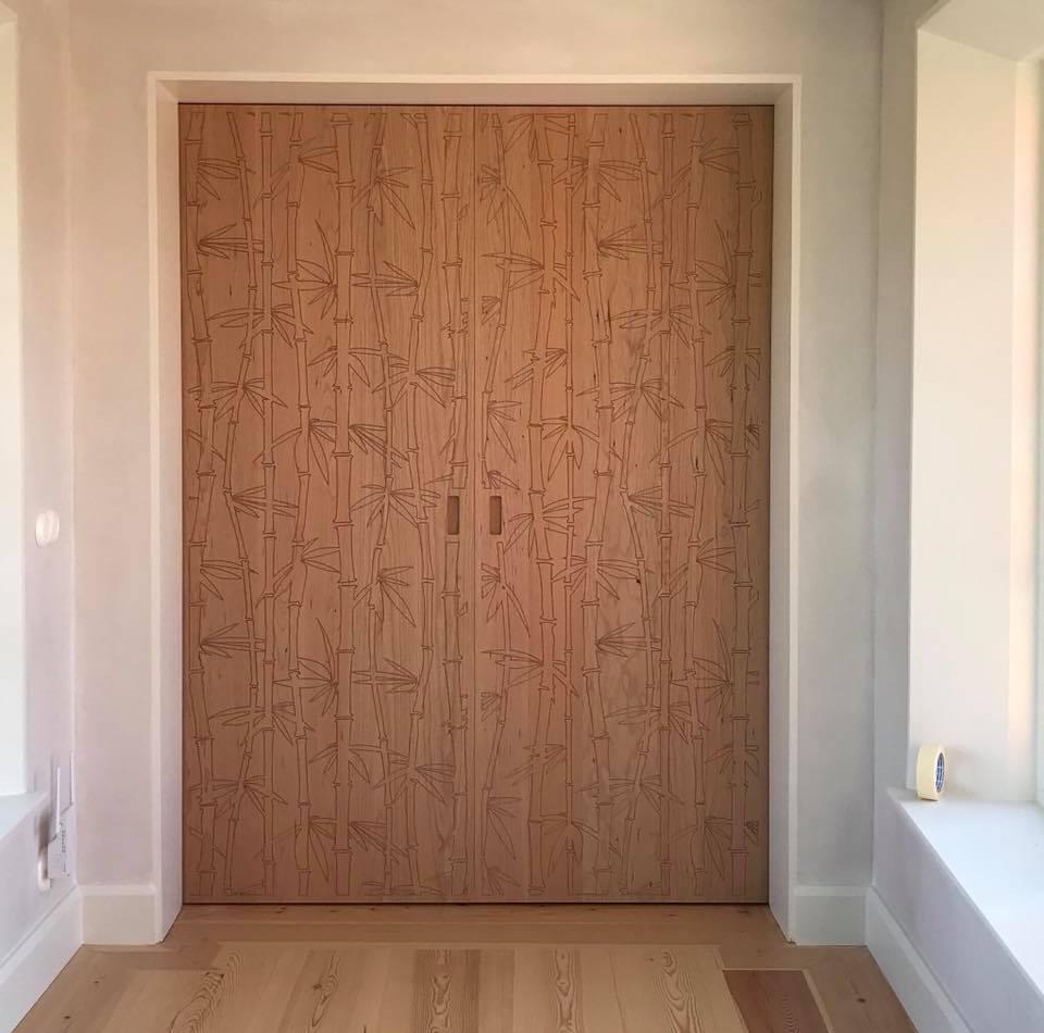 Dörrpar-bambumönster