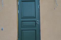 Grön-dörr