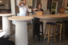 Ståbord-restaurang