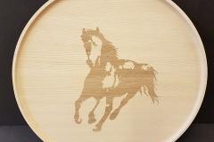 Hästbricka